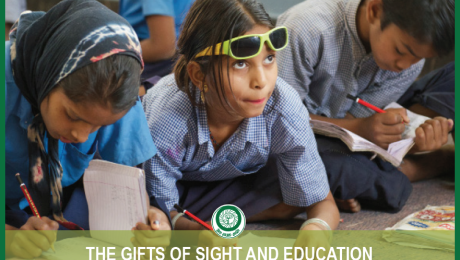 The Gifts of Sight and Education