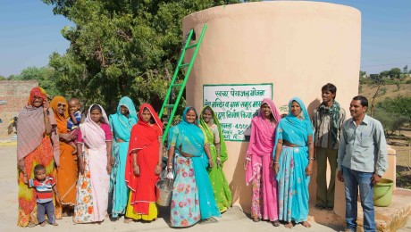 Bringing clean drinking water to the villages